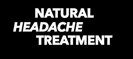 natural headache treatment